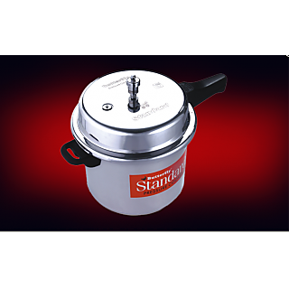 Butterfly Standard Aluminium 10 Ltr pressure cooker-Outer lid