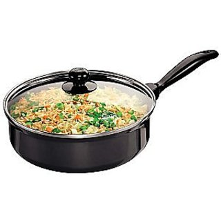 Curry Pans(Saute Pans) With Glass Lid 3.25 Litre Cookware