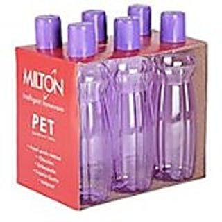 Milton pacific water bottles - 1000 ml - SET OF 6