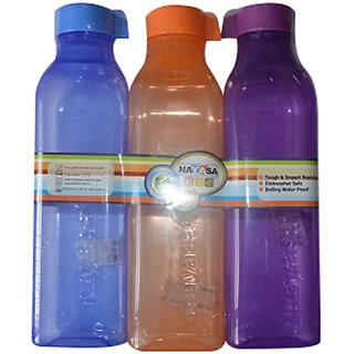 Nayasa Square Water Bottle - Set Of 3