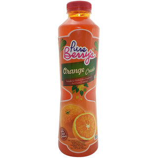 Pure Berrys Orange  Crush,750 ml