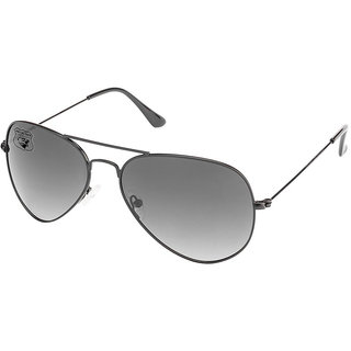Royal Son Black UV Protection Aviator Sunglasses