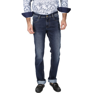 Easies Cotton Blue Jeans For Mens
