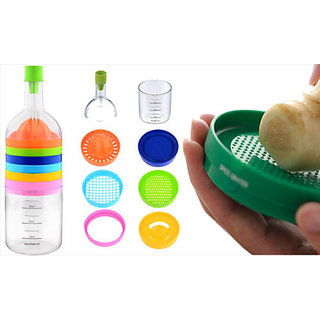 Bin 8 Tools 8 In 1 Creative Kitchen Bottle Snazzy Colorful Stack Fun