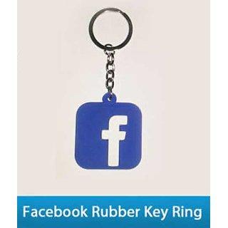 Facebook Rubber Keychain
