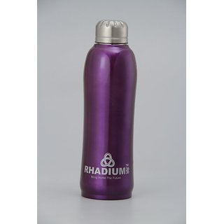 stainless steel cola bottle nice of 700ml of rhadium company