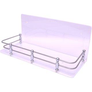 Easyhome Furnish Acrylic Bathroom Corner Shelves 12X5 Inch Eba-A-110C
