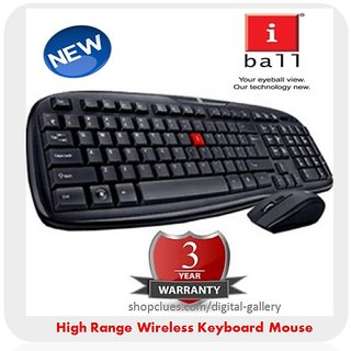 buy iball dusky duo 06 wireless wifi cordless keyboard mouse 2 4ghz online get 0 off. Black Bedroom Furniture Sets. Home Design Ideas