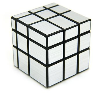 3x3 Silver Mirror Cube