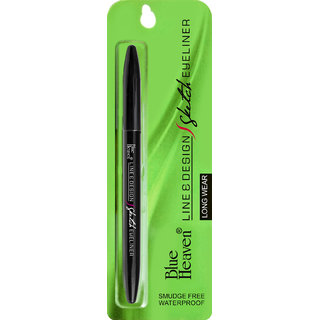 Blue Heaven Line  Design Sketch Eyeliner