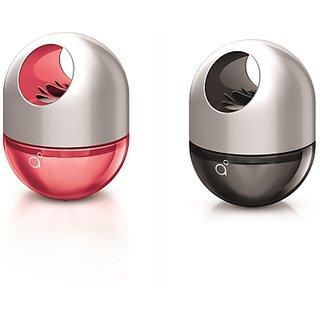 Godrej aer Twist Gel for Car - Petal Crush Pink (45 g) + Musk After Smoke (45 g)