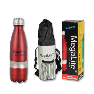 MegaLite Vacuum Insulated Stainless Steel Cola Bottle 500ml