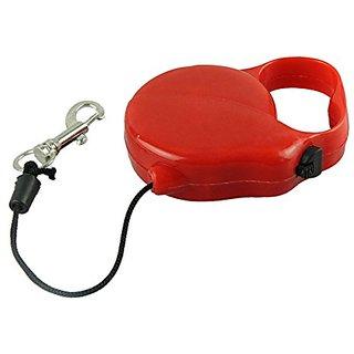 Futaba Pet Outdoor Harness Flexible Retractable Leash - Red