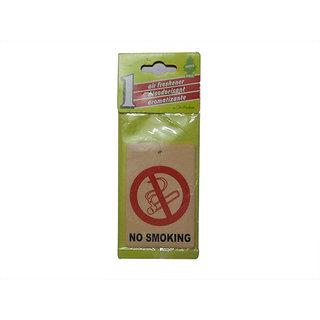 Takecare No Smoking Logo Hanging Perfume For Maruti Wagon R Old 2002-2009