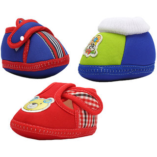 Small Toes Booties Combo  For Infant Baby