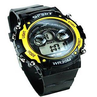 LCDMulti-function Digital Alarm Boy Girl Teen Sports Wrist Watch
