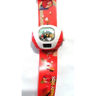 Red Angry Birds Projector Watch - 830 (b)