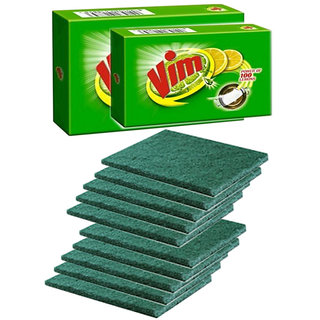 Combo offer 2 PC Vim Bar  10 Pc  Scrubber