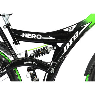 85c7140270e Buy Hero Ranger 18 Speed Dtb Vx 26T Mountain Bike - Black Green ...