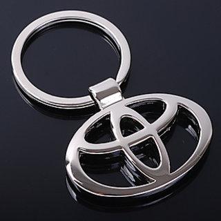 Toyota Heavy Metal Chrome KeyChain