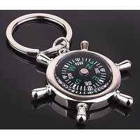 Magnetic Compass Key Chain waterproof