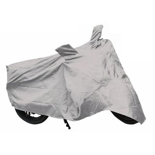 Bike Body Cover For Honda CB Shine Motorcycle Bike Body Cover Silver Color.