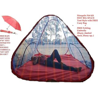 FREE Mosquito Net Tent Style 6/6 + Folding Umbrella WITH FREE SHIPPING HURRY UP..LIMITED STOCK..GET GIFT ..DO GIFT