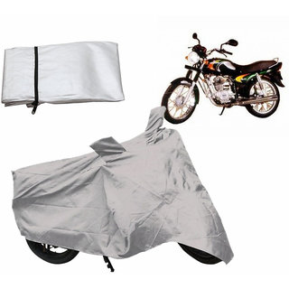 Relax Bike Body Cover For BAJAJ CALIBER - Silver