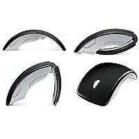 2.4GHz Wireless Mouse Mice for PC Laptop USB Arc Folding mouse