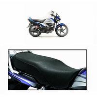 Relax Bike Seat Cover For HERO SPLENDER I SMART -Black