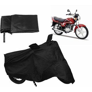 Relax Bike Body Cover For SUZUKI HEAT - Black