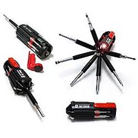 8 In 1 Multi Screwdriver Powerful Torch Kit - Qc15