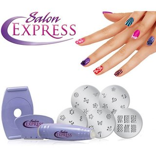 Salon express nail art stamping kit buy salon express nail art salon express nail art stamping kit prinsesfo Images