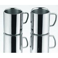 King International - Double Wall Heavy Cappuccino Coffee Mug Set - 225Ml (Set Of 2 Pc)
