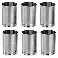 King International - Silver - Ice Touch Glass (Set Of 6 Pc)