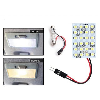 24 Smd Led Lamp Car Dome Ceiling Roof Interior Reading Light
