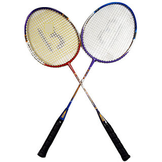 Badminton Rackets Set of 2
