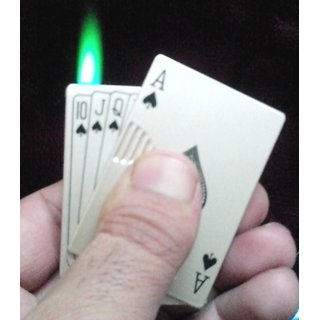 Playing Card Style Cigarette Lighter