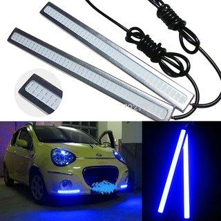 DRL 12V 6w LED COB Waterproof Car Light Source Blue  Color
