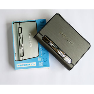 FOCUS Cigarette Case 2 in 1 Lighter