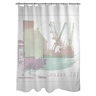 Thumbprintz Shower Curtain London SE1