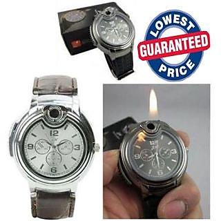 New Stylish Wrist Watch Cigarette Lighter
