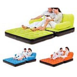 Velvet Air Sofa Cum Bed