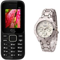 Infix Combo Of N3 Dual Sim Multimedia Mobile And  Rosra