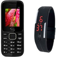 Infix Combo Of N3 Dual Sim Multimedia Mobile And  Elios