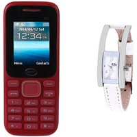 Infix Combo Of N3 Red Dual Sim Multimedia Mobile And  E