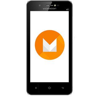 Videocon Graphite V45ED 4G VoLTE Android 6 Marshmallow Smartphone - Black Grey