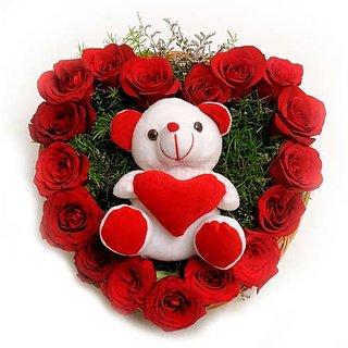 Giftsvatika - Roses Soft Toy ( GV-4)