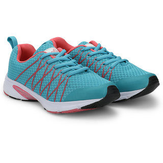 Admiral Women's Red & Turquoise Sports Shoes