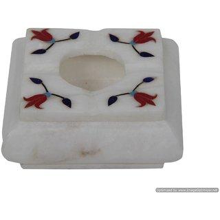 Ash Tray Made of Italian Marble by Alok International